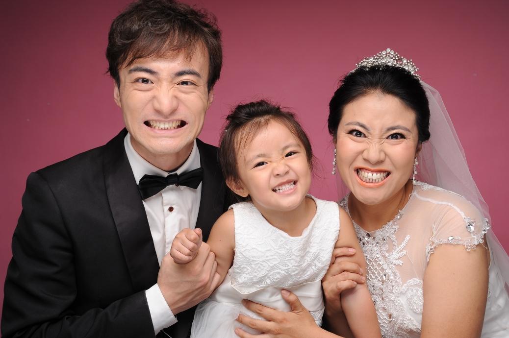 親子婚紗與親子照